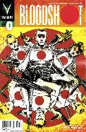 Bloodshot (VU) #0 Pullbox Kindt Cover [Comic] THUMBNAIL