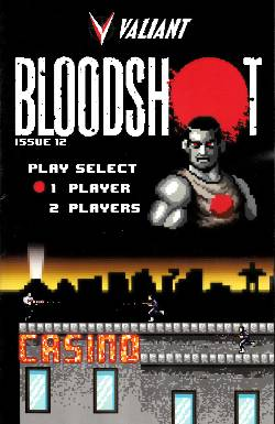Bloodshot (Vu) #12 8-Bit Cover [Comic] LARGE