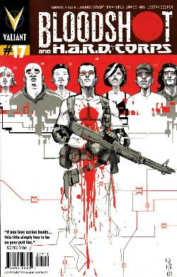 Bloodshot & Hard Corps #17 [Comic] LARGE