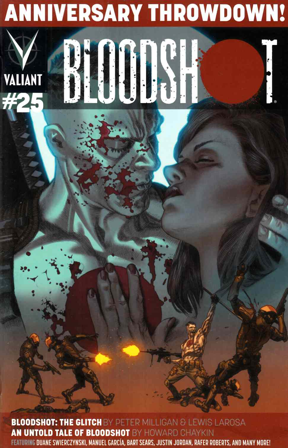 Bloodshot #25 Cover A- Larosa [Comic]