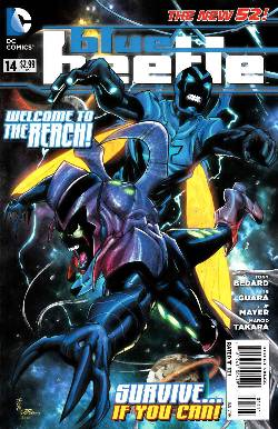 Blue Beetle #14 [DC Comic] LARGE