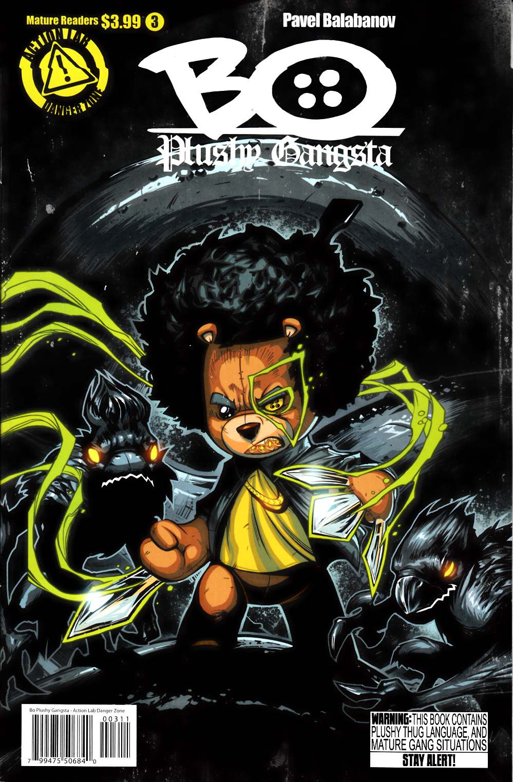 Bo Plushy Gangsta #3 Cover A [Comic] THUMBNAIL