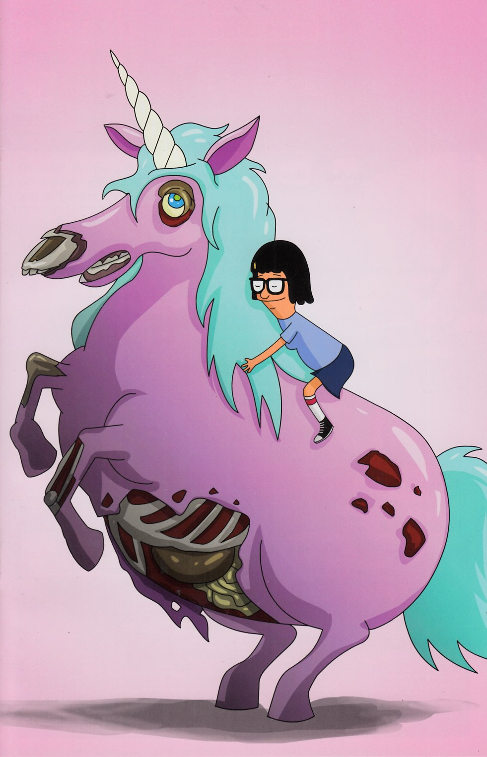 Bobs Burgers #1 NYCC Zombie Unicorn Cover [Dynamite Comic]