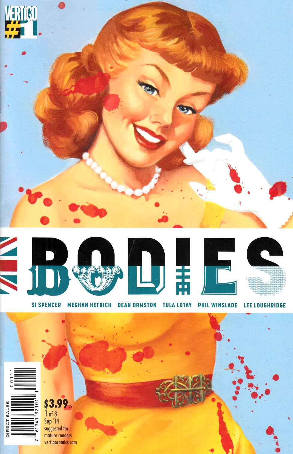Bodies #1 [Comic] LARGE