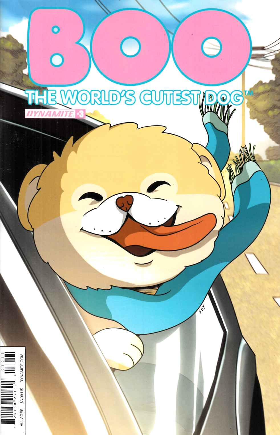 Boo Worlds Cutest Dog #3 Cover B [Dynamite Comic] THUMBNAIL