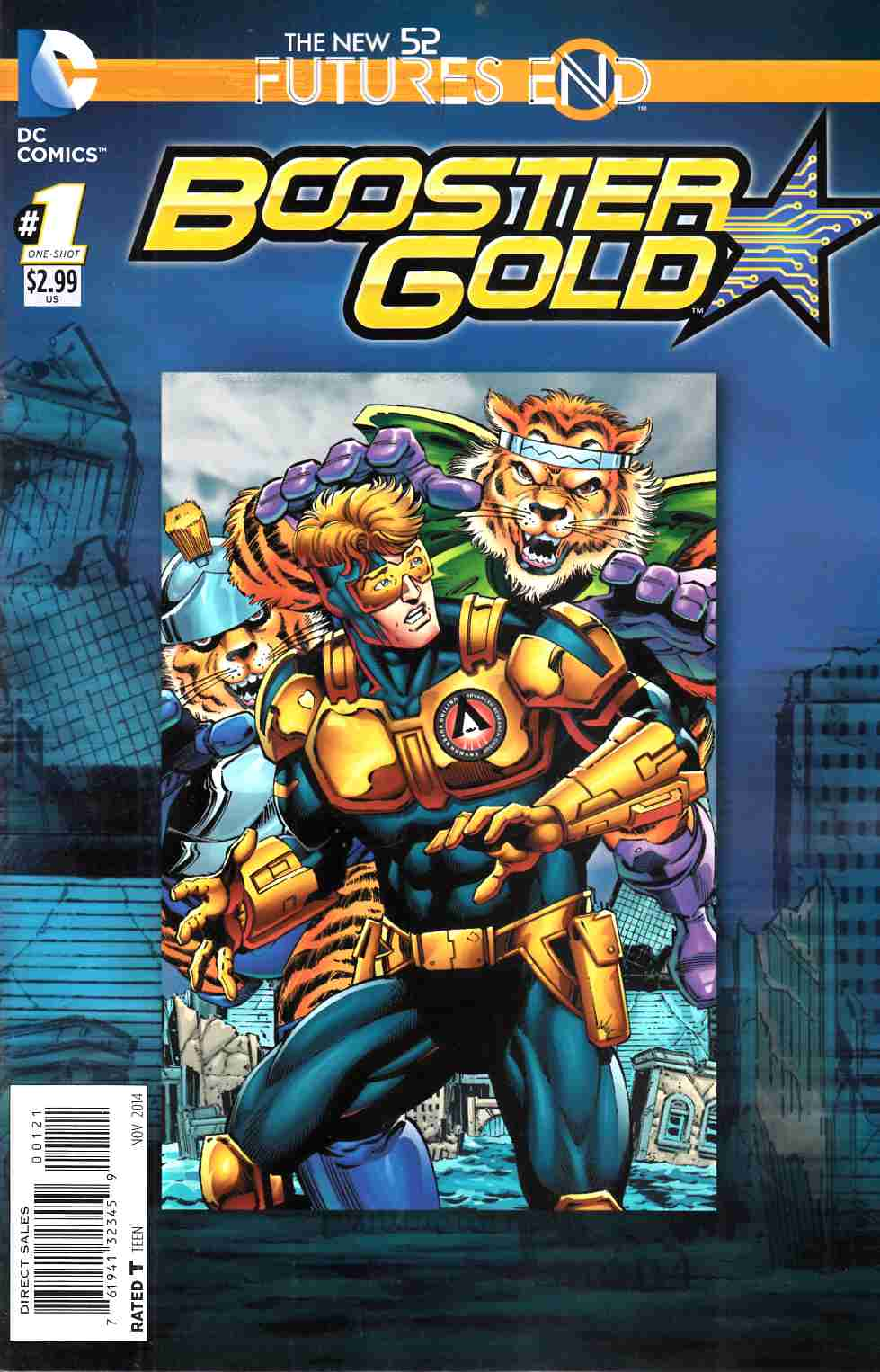 Booster Gold Futures End #1 Standard Edition [Comic]