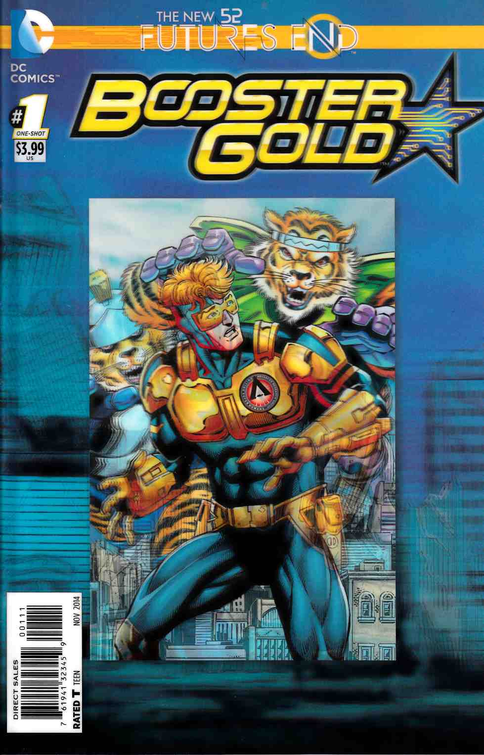 Booster Gold Futures End #1 3D Edition [Comic]