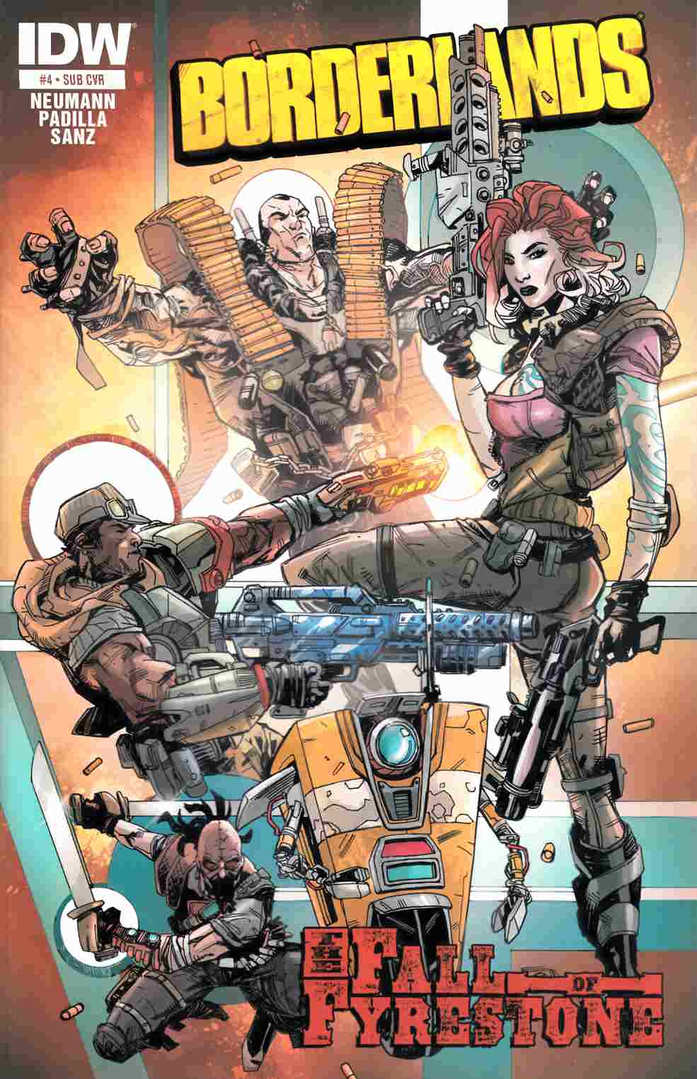 Borderlands Fall of Fyrestone #4 Subscription Cover [IDW Comic] THUMBNAIL