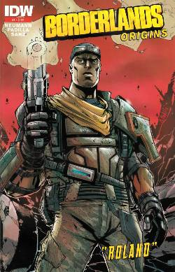 Borderlands Origins #1 Third Printing [IDW Comic]
