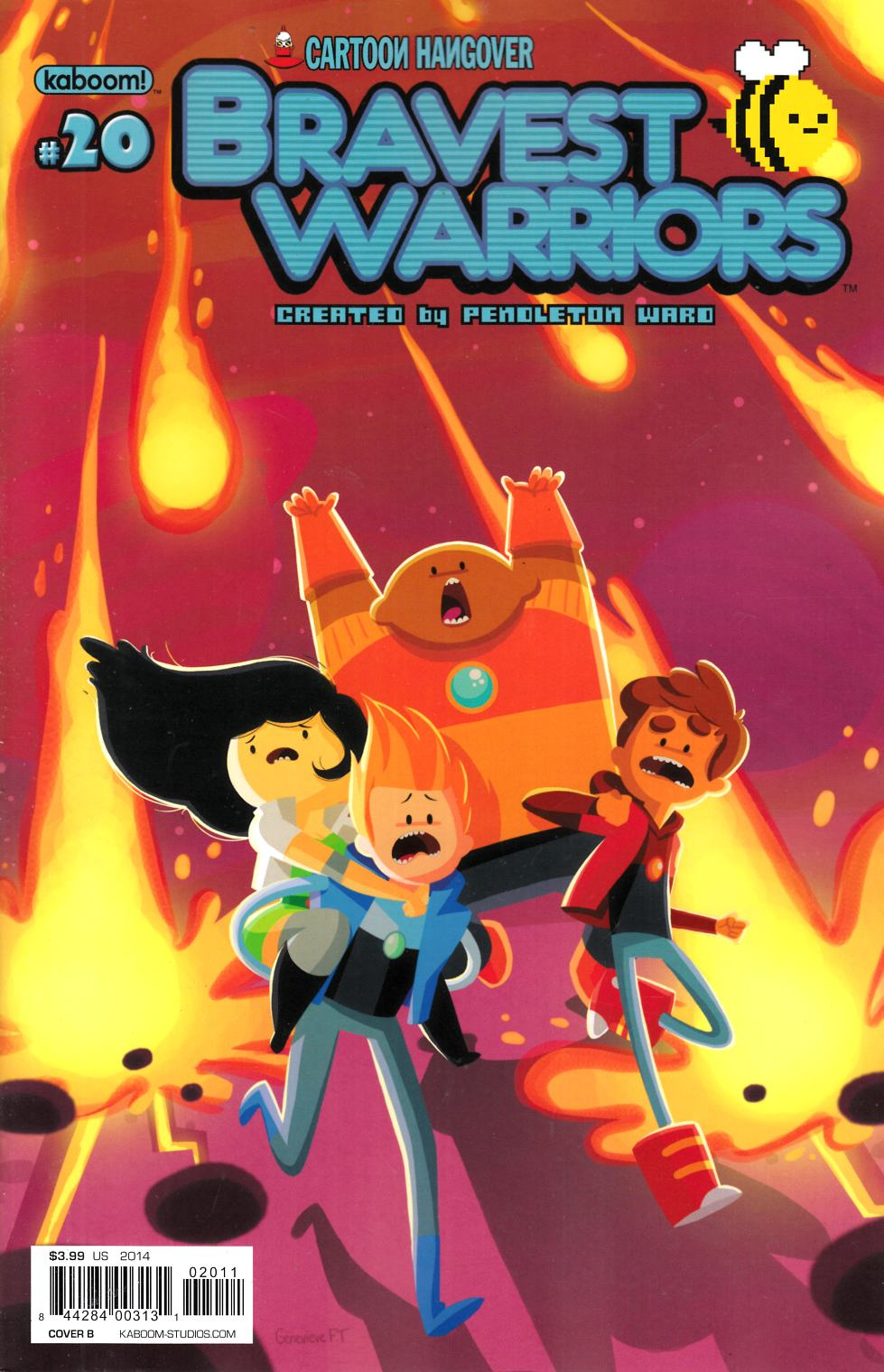 Bravest Warriors #20 Cover B [Boom Comic] THUMBNAIL