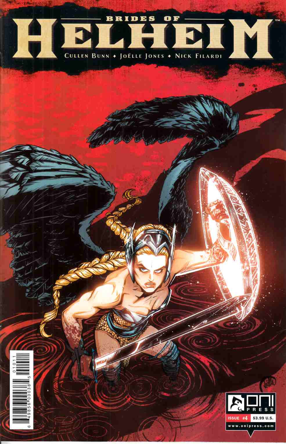 Brides of Helheim #4 [Oni Press Comic]