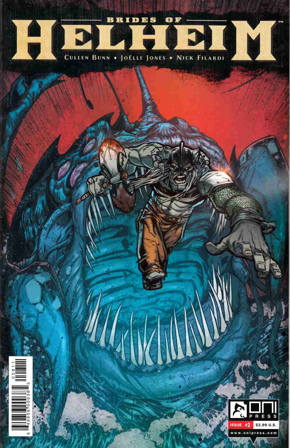 Brides of Helheim #2 [Oni Press Comic]