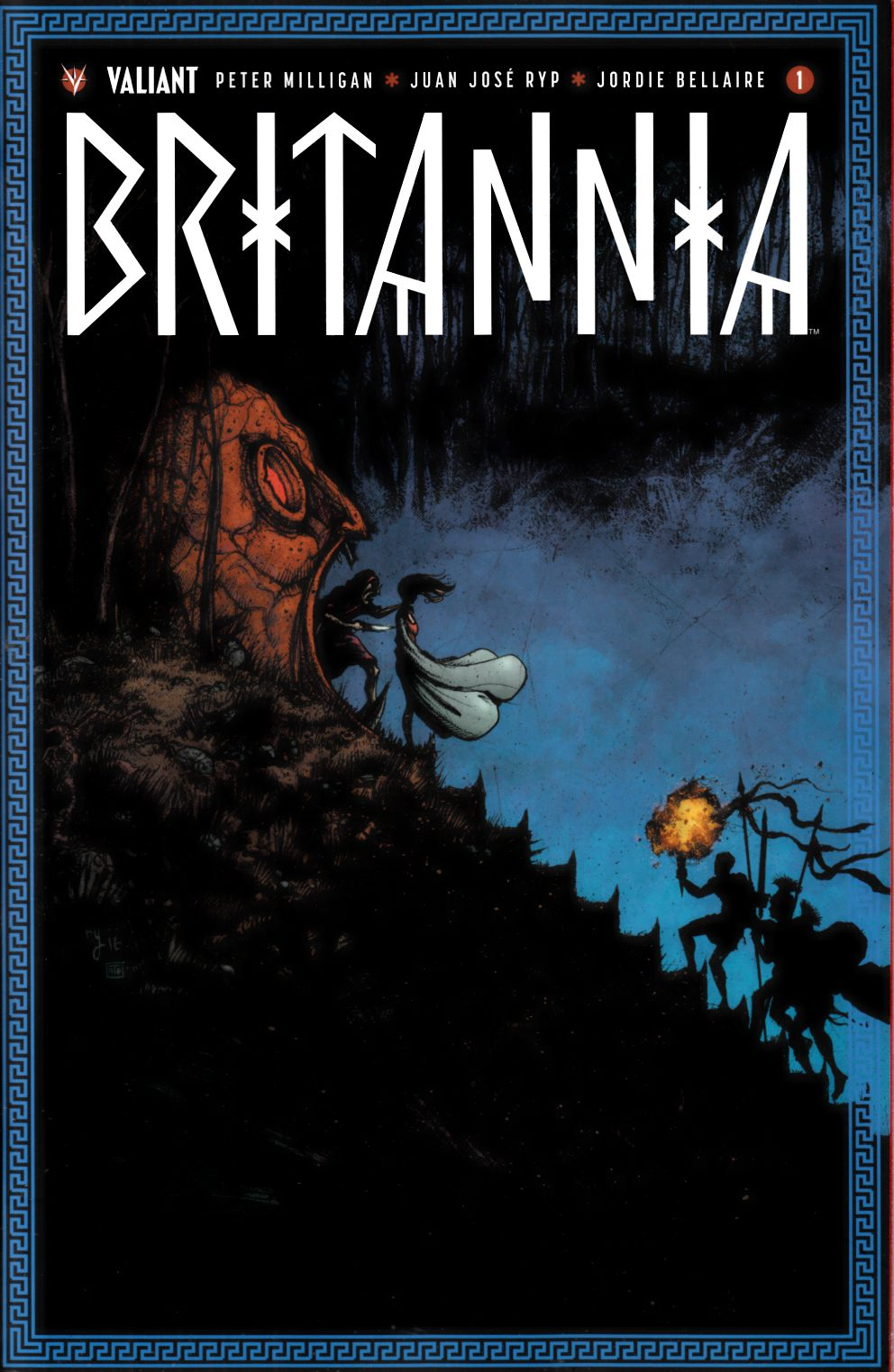 Britannia #1 Cover E- Lee Incentive [Valiant Comic] LARGE