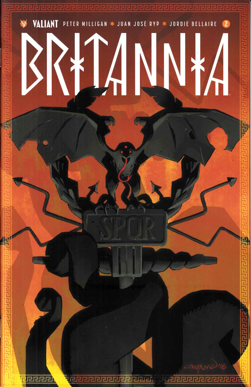 Britannia #2 Cover A [Valiant Comic]
