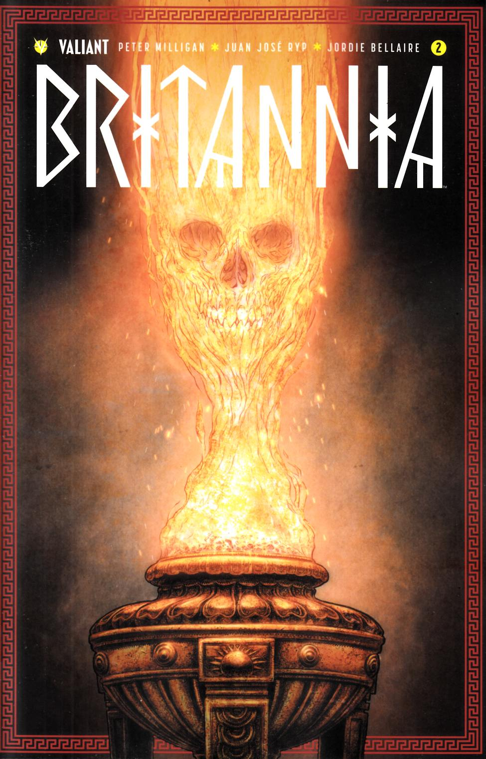 Britannia #2 Cover C- Ryp Incentive [Valiant Comic]