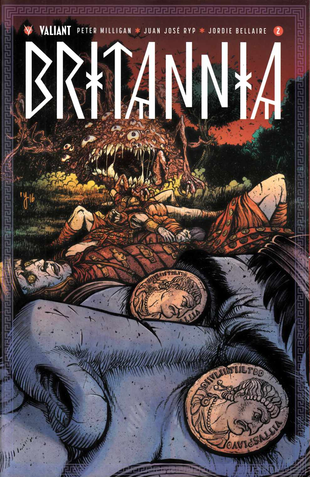 Britannia #2 Cover D- Lee Incentive [Valiant Comic]