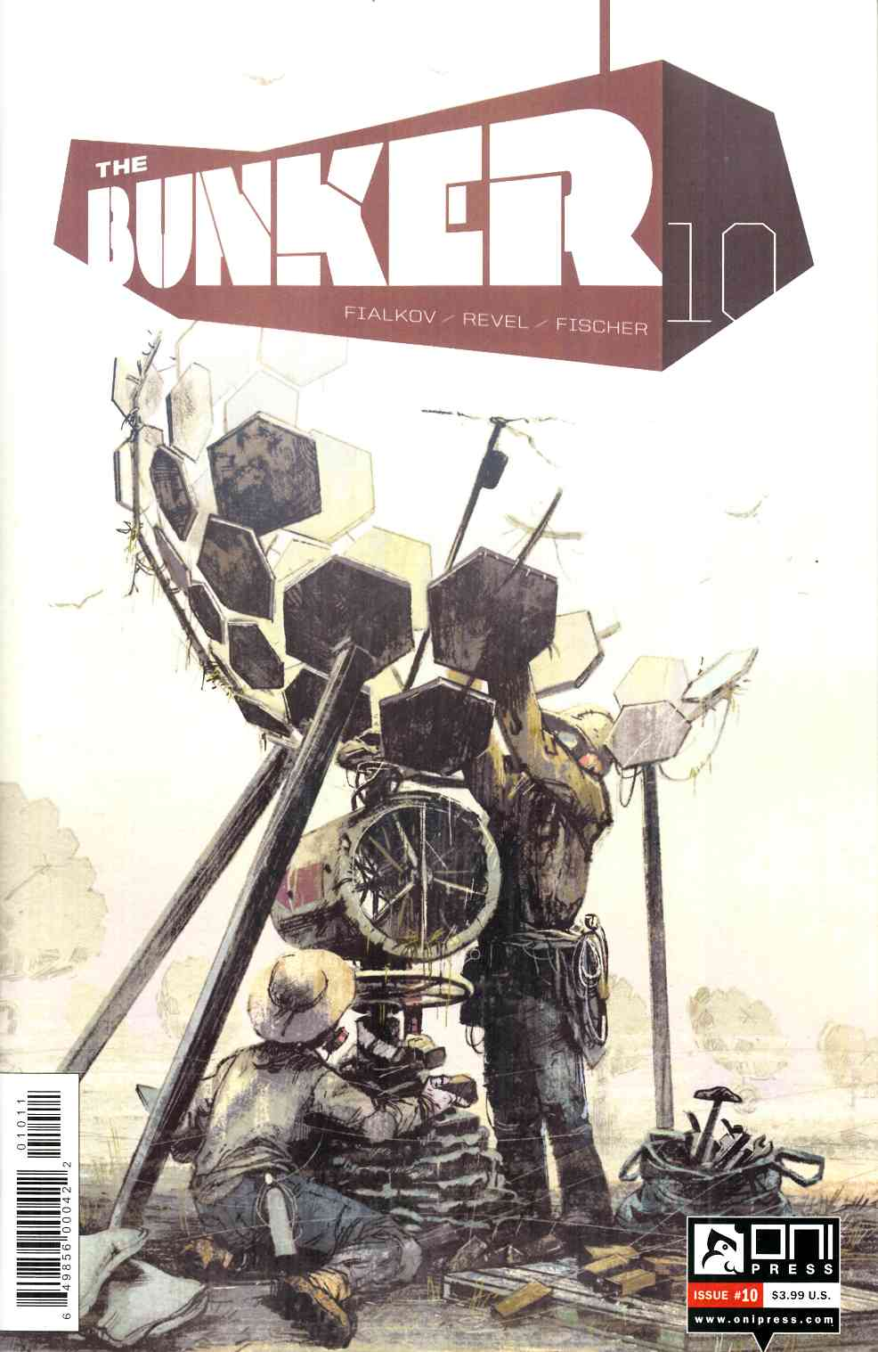 Bunker #10 [Oni Press Comic] THUMBNAIL