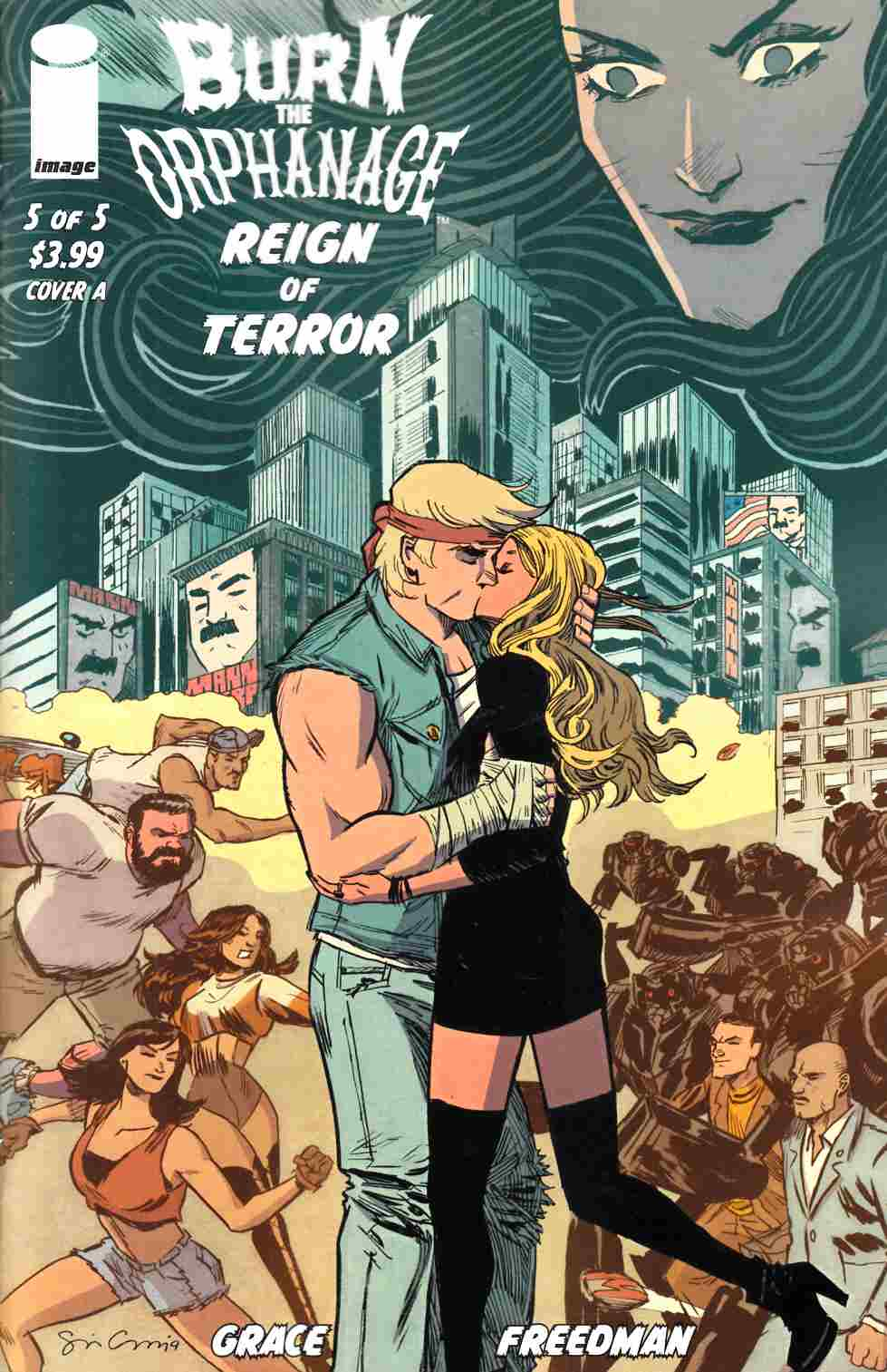 Burn the Orphanage Reign of Terror #5 Cover A- Grace [Image Comic] THUMBNAIL