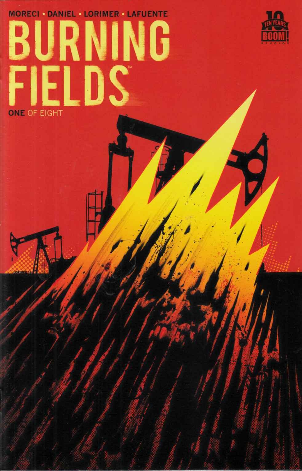 Burning Fields #1 Second Printing [Boom Comic] THUMBNAIL
