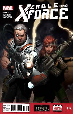Cable and X-Force #15 [Comic] LARGE