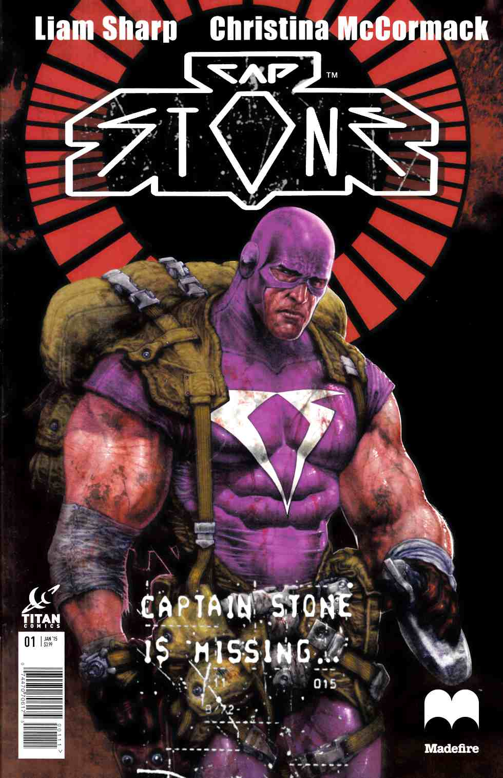 Captain Stone #1 [Titan Comic] THUMBNAIL