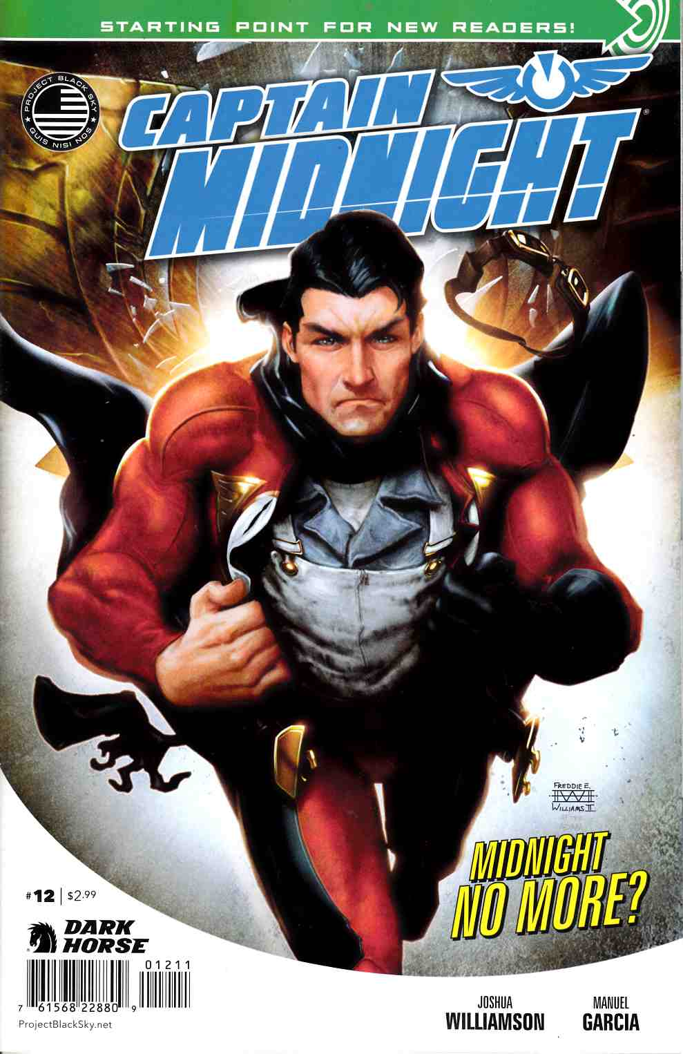 Captain Midnight #12 [Dark Horse Comic] LARGE