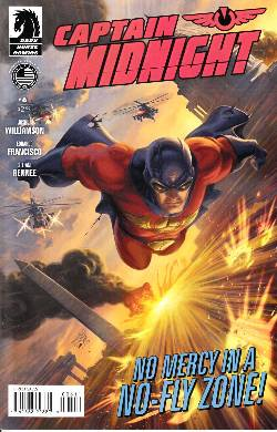 Captain Midnight #6 [Dark Horse Comic] LARGE
