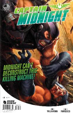Captain Midnight #7 [Dark Horse Comic] LARGE