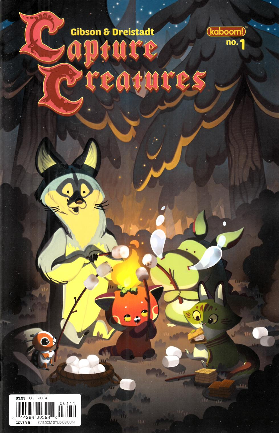 Capture Creatures #1 Cover B [Boom Comic] THUMBNAIL