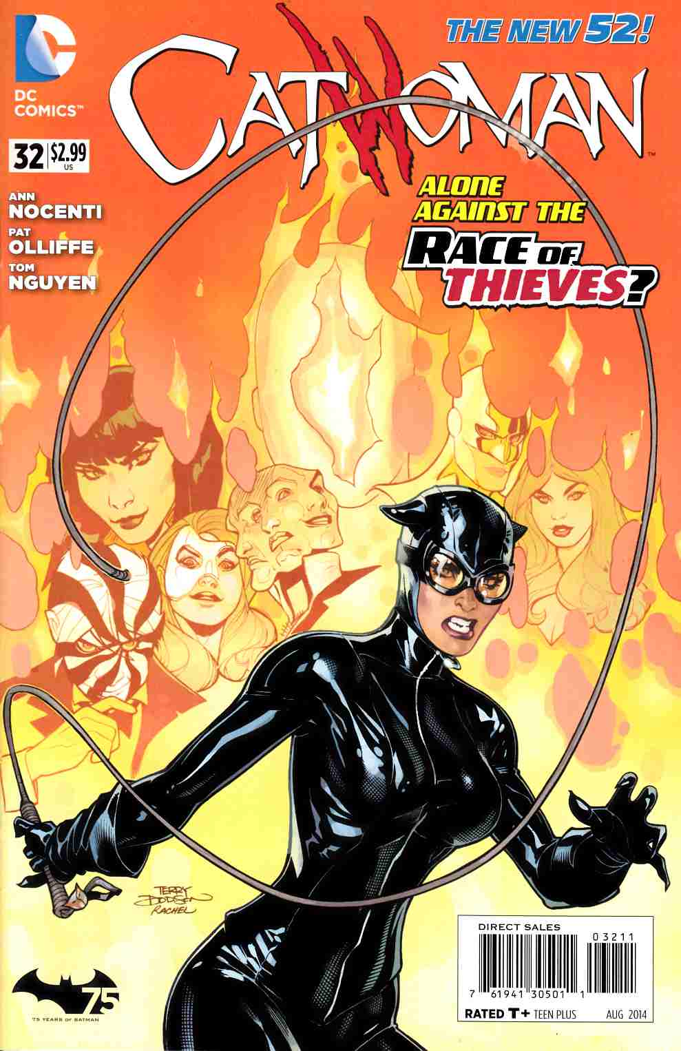 Catwoman #32 [DC Comic] LARGE