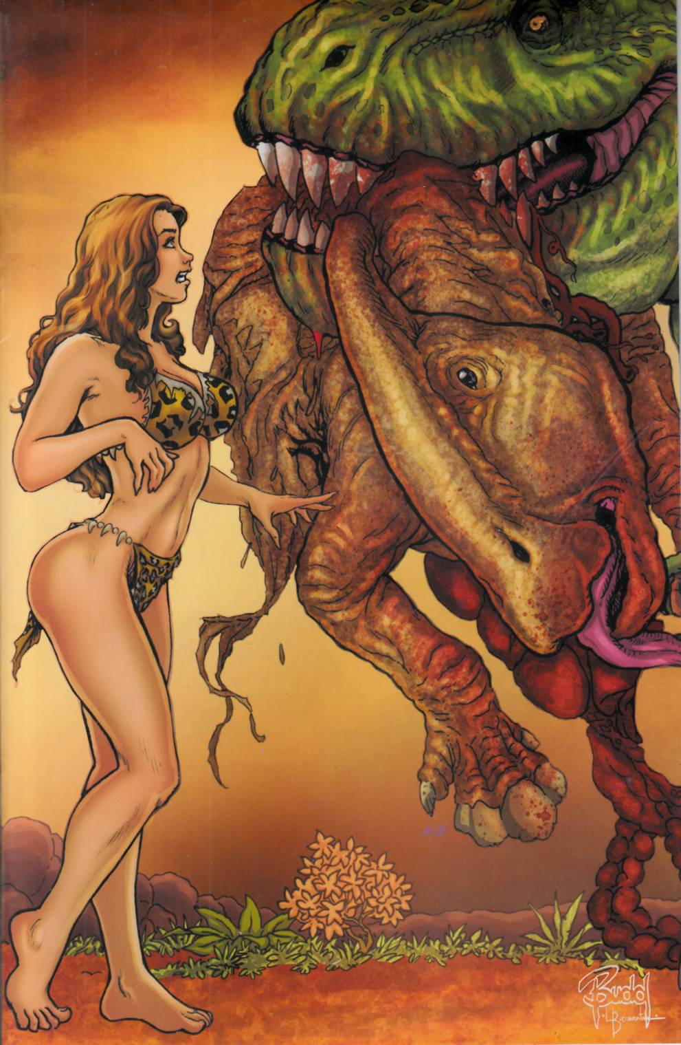 Cavewoman River Styx #1 Cover D- Root [Amryl Comic] THUMBNAIL