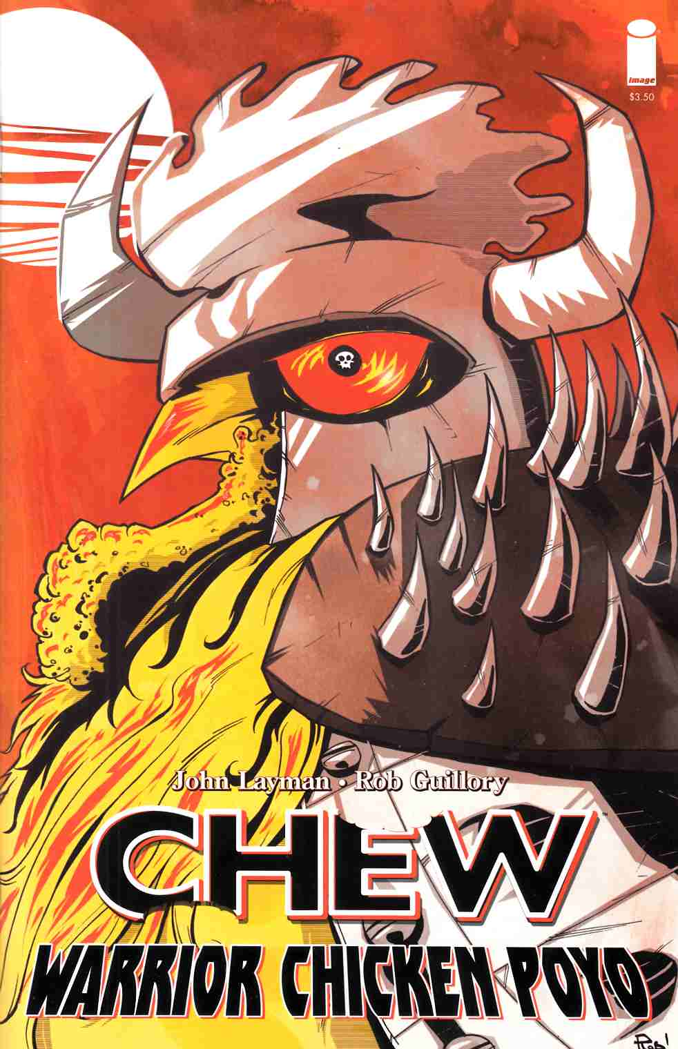 Chew Warrior Chicken Poyo #1 Second Printing [Comic] LARGE