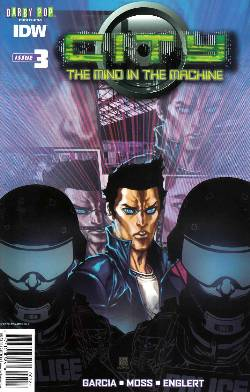 City the Mind In the Machine #3 Subscription Cover [IDW Comic] LARGE