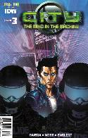 City the Mind In the Machine #3 Subscription Cover [IDW Comic] THUMBNAIL
