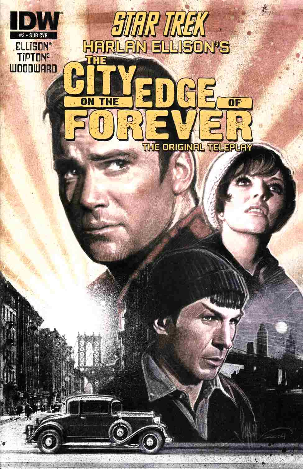 Star Trek City on the Edge of Forever #3 Subscription Cover [Comic]