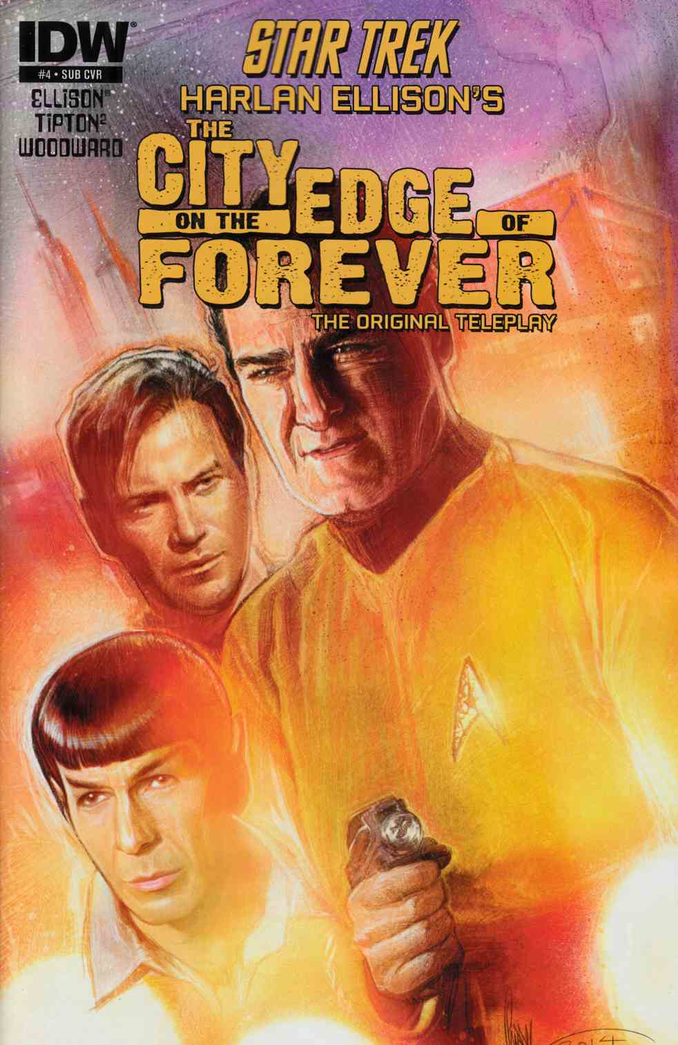 Star Trek City on the Edge of Forever #4 Subscription Cover [Comic]