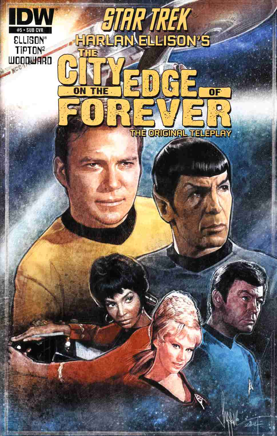 Star Trek City On The Edge of Forever #5 Subscription Cover [IDW Comic]