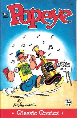 Classic Popeye Ongoing #8 [Comic] LARGE
