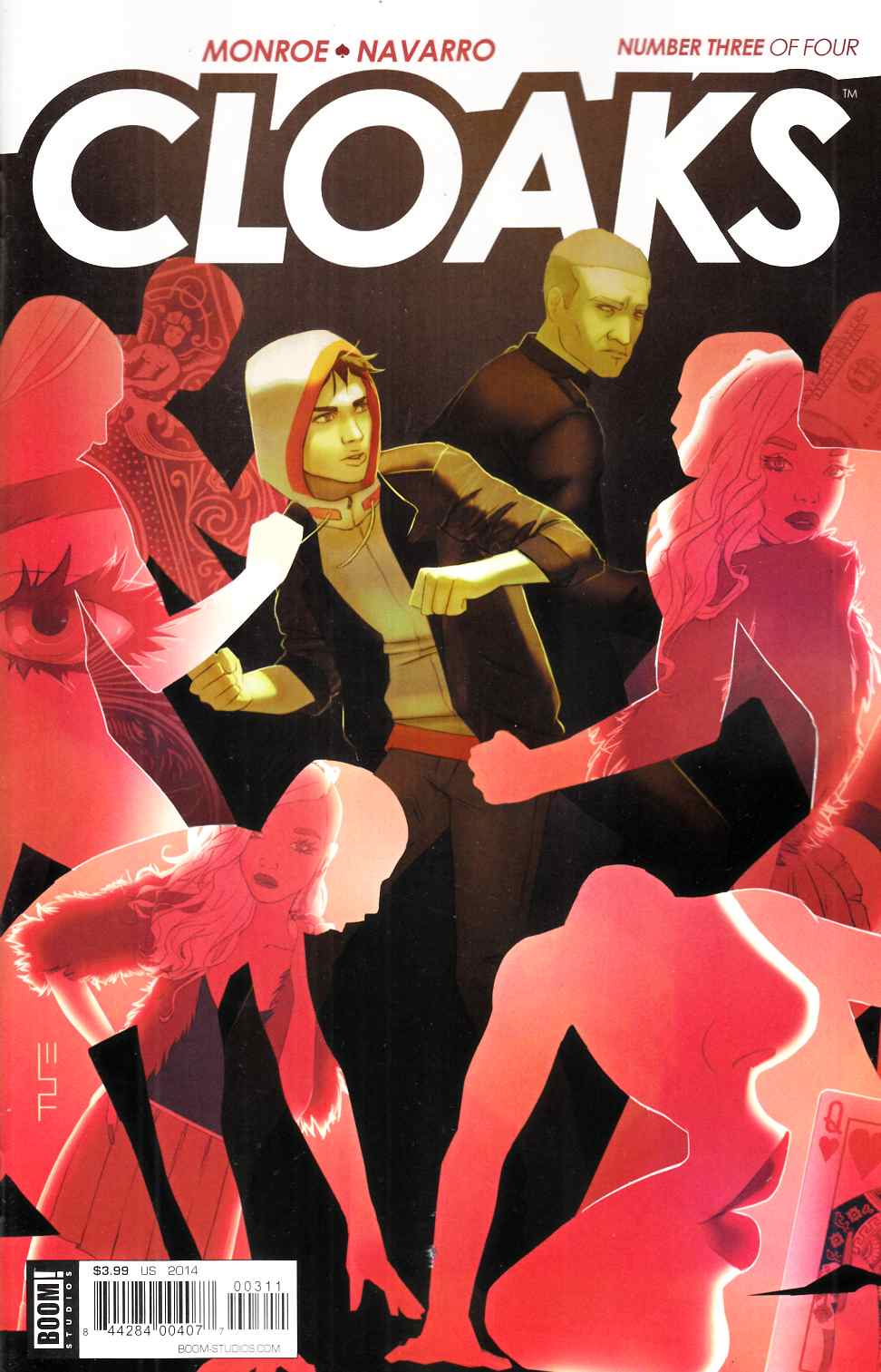 Cloaks #3 [Boom Comic]
