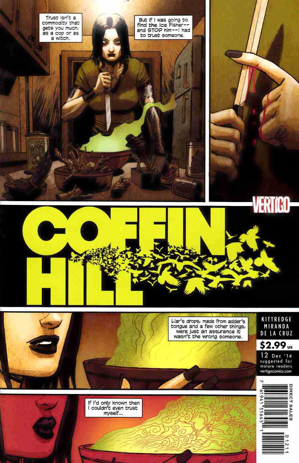 Coffin Hill #12 [DC Comic] THUMBNAIL