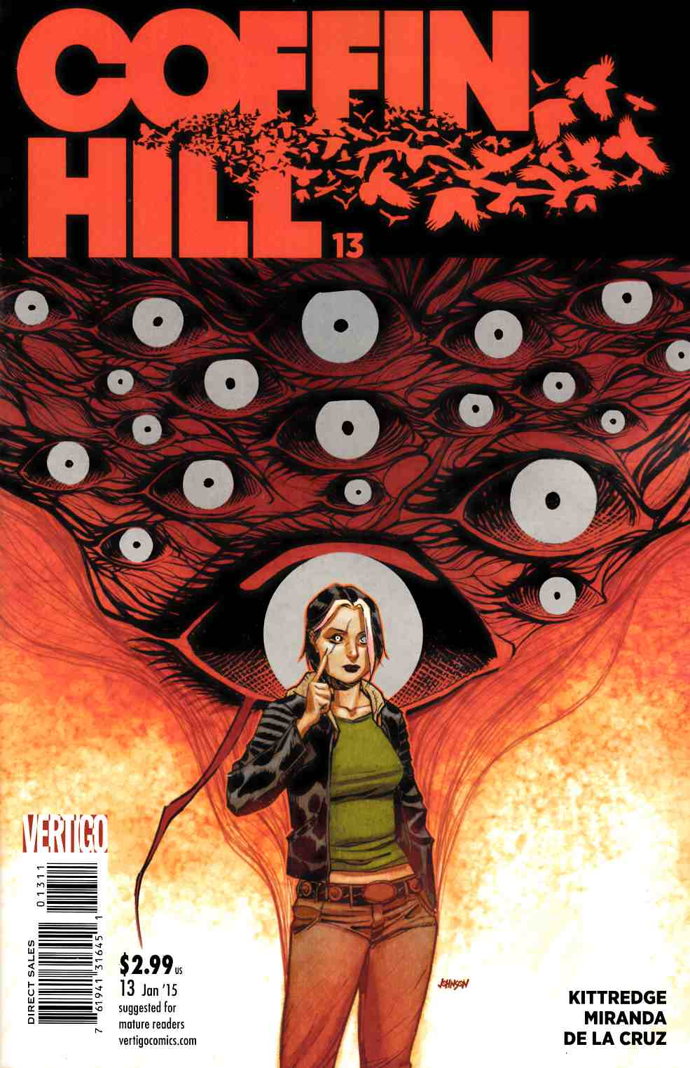 Coffin Hill #13 [DC Comic] THUMBNAIL