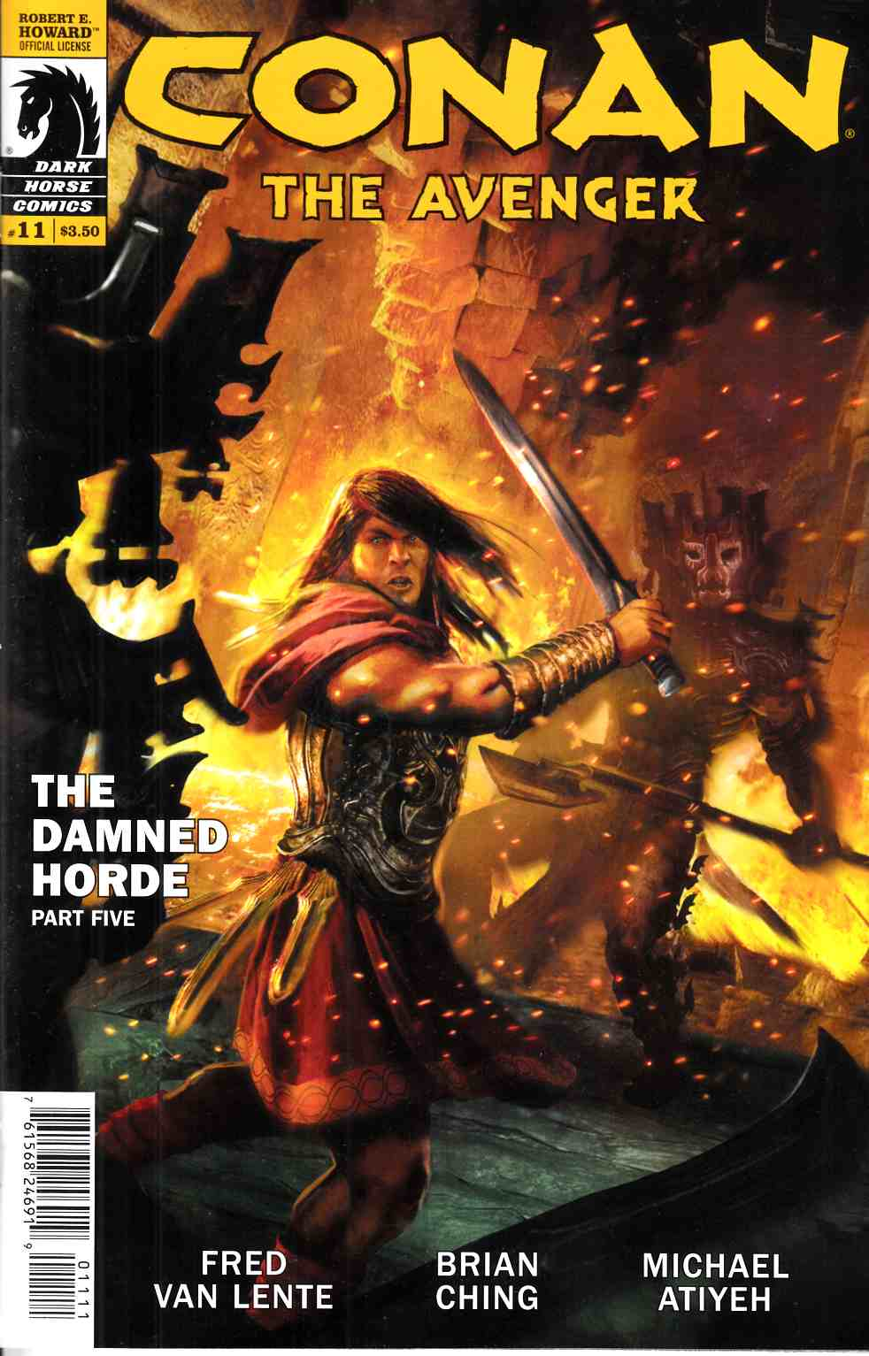 Conan the Avenger #11 [Dark Horse Comic] THUMBNAIL