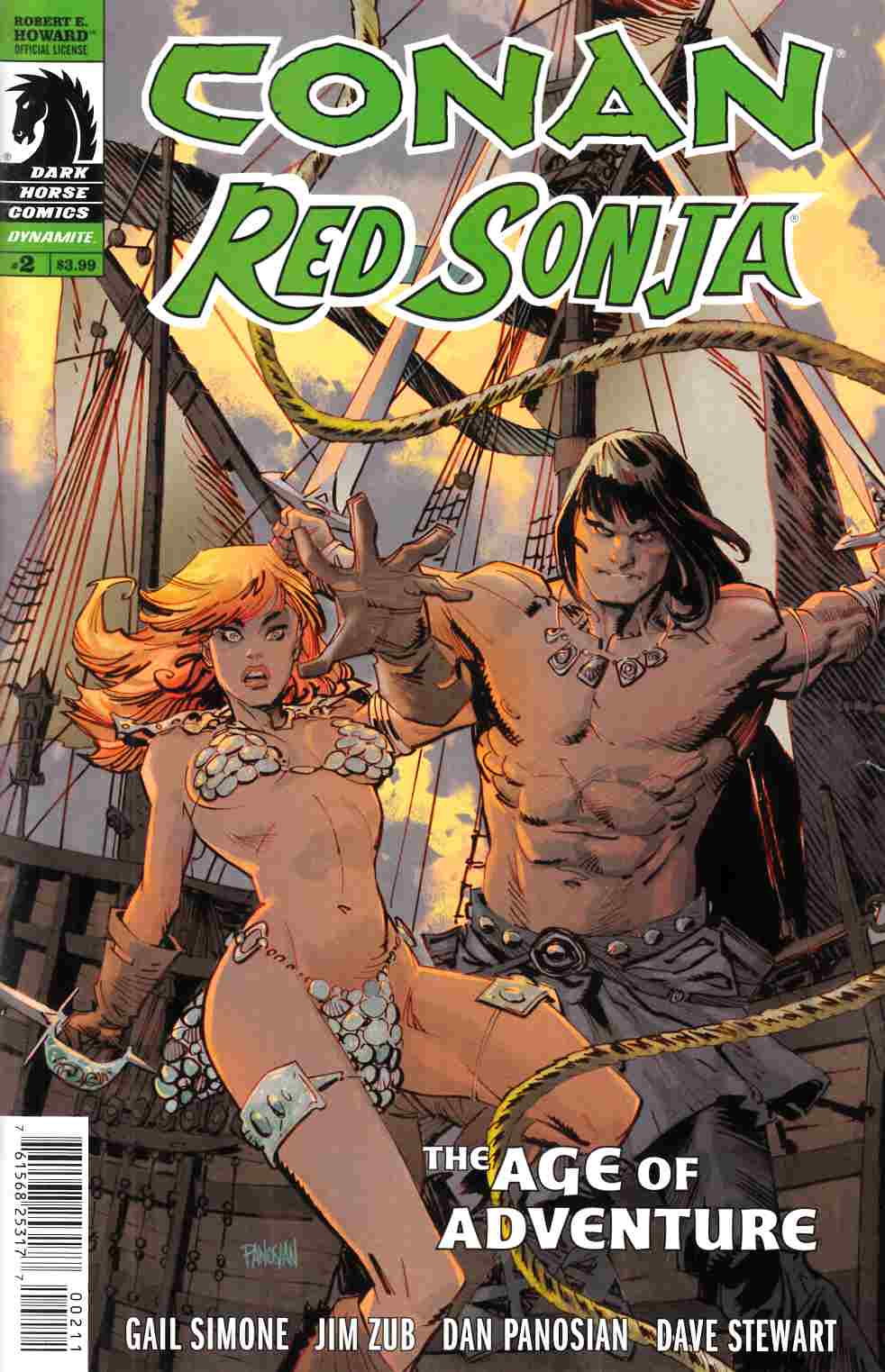 Conan Red Sonja #2 [Dark Horse Comic] THUMBNAIL