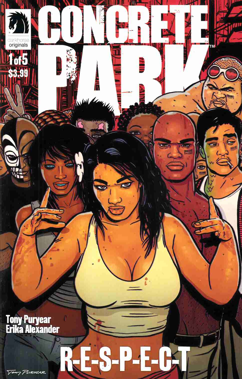 Concrete Park Respect #1 [Comic]