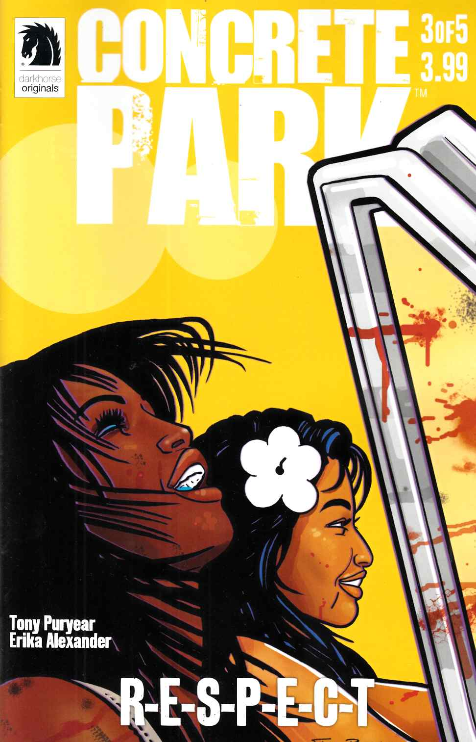 Concrete Park Respect #3 [Dark Horse Comic]
