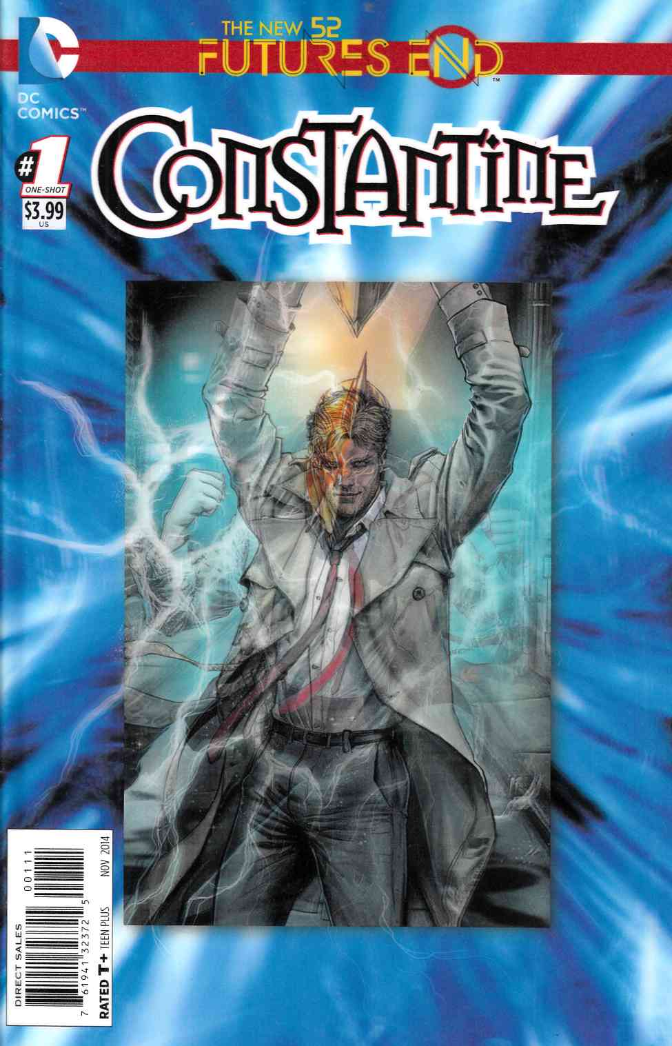 Constantine Futures End #1 3D Edition [Comic] LARGE
