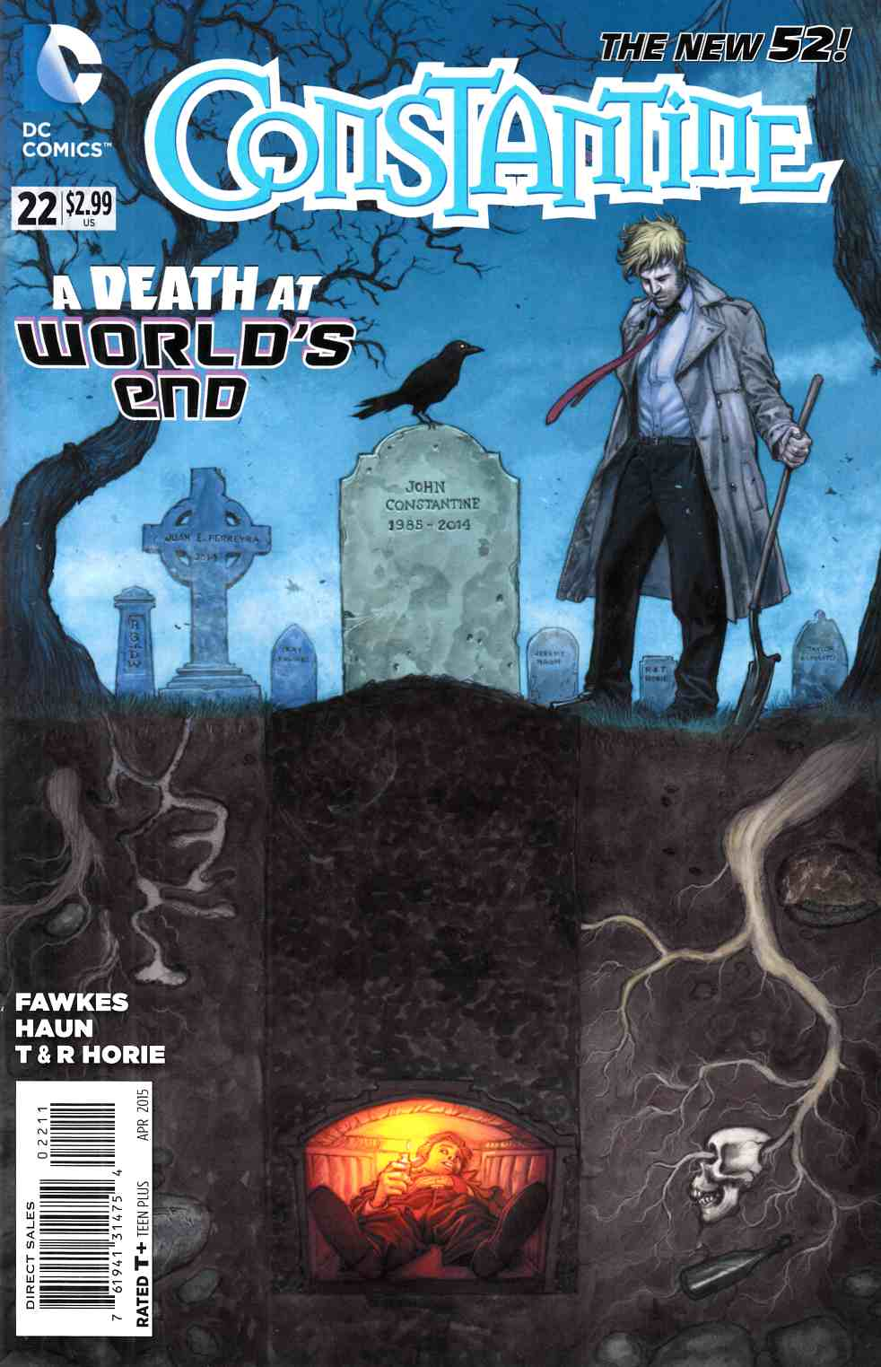 Constantine #22 [DC Comic] LARGE