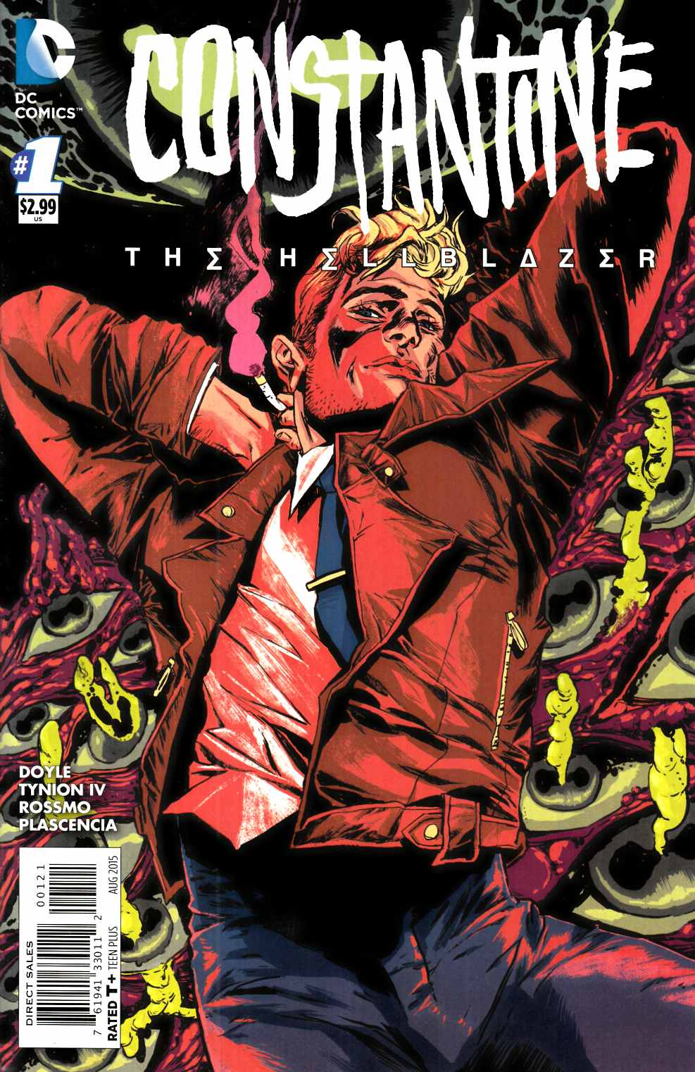 Constantine The Hellblazer #1 Doyle Variant Cover [DC Comic] THUMBNAIL