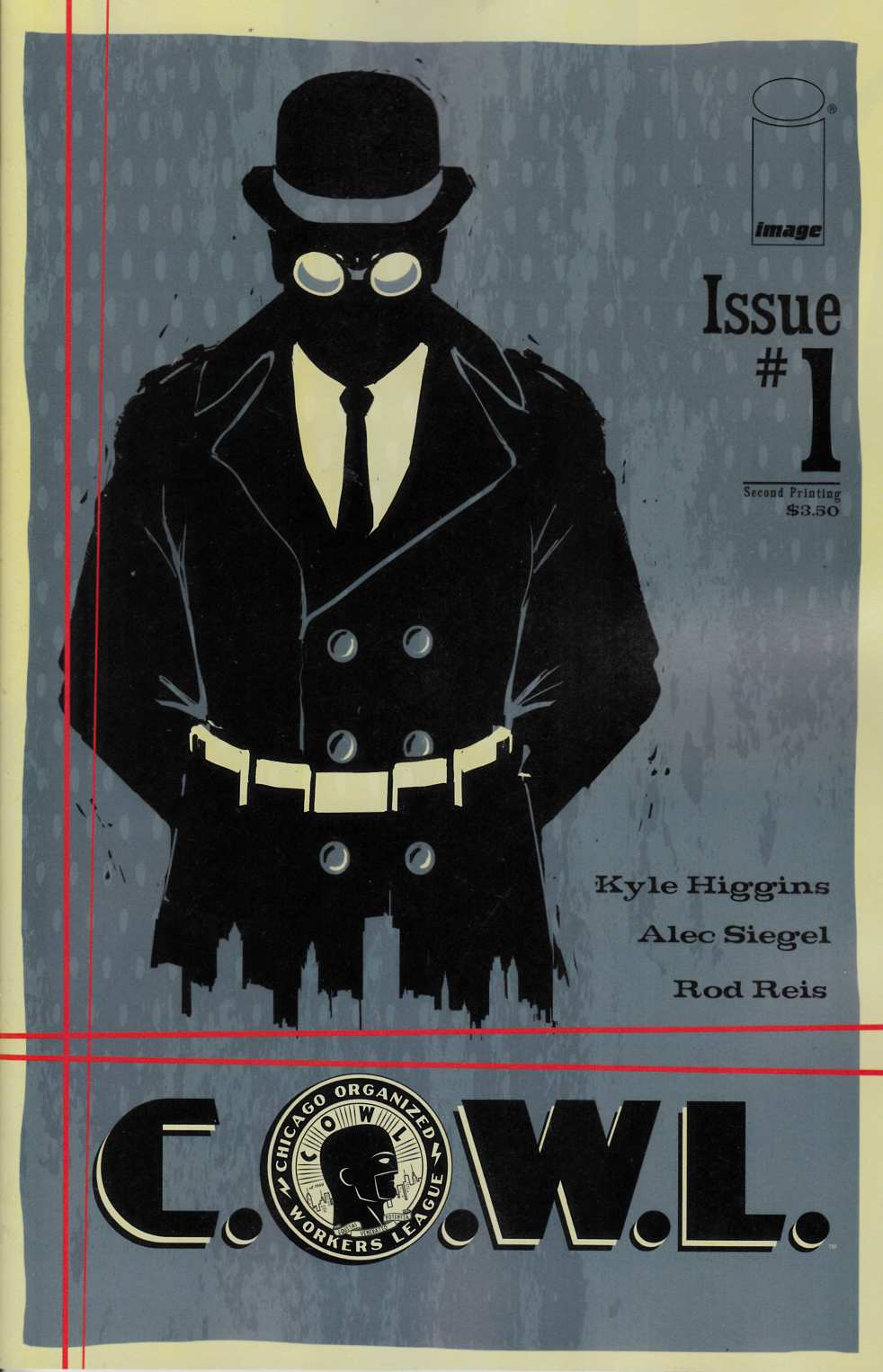 C.O.W.L. #1 Second Printing [Comic]