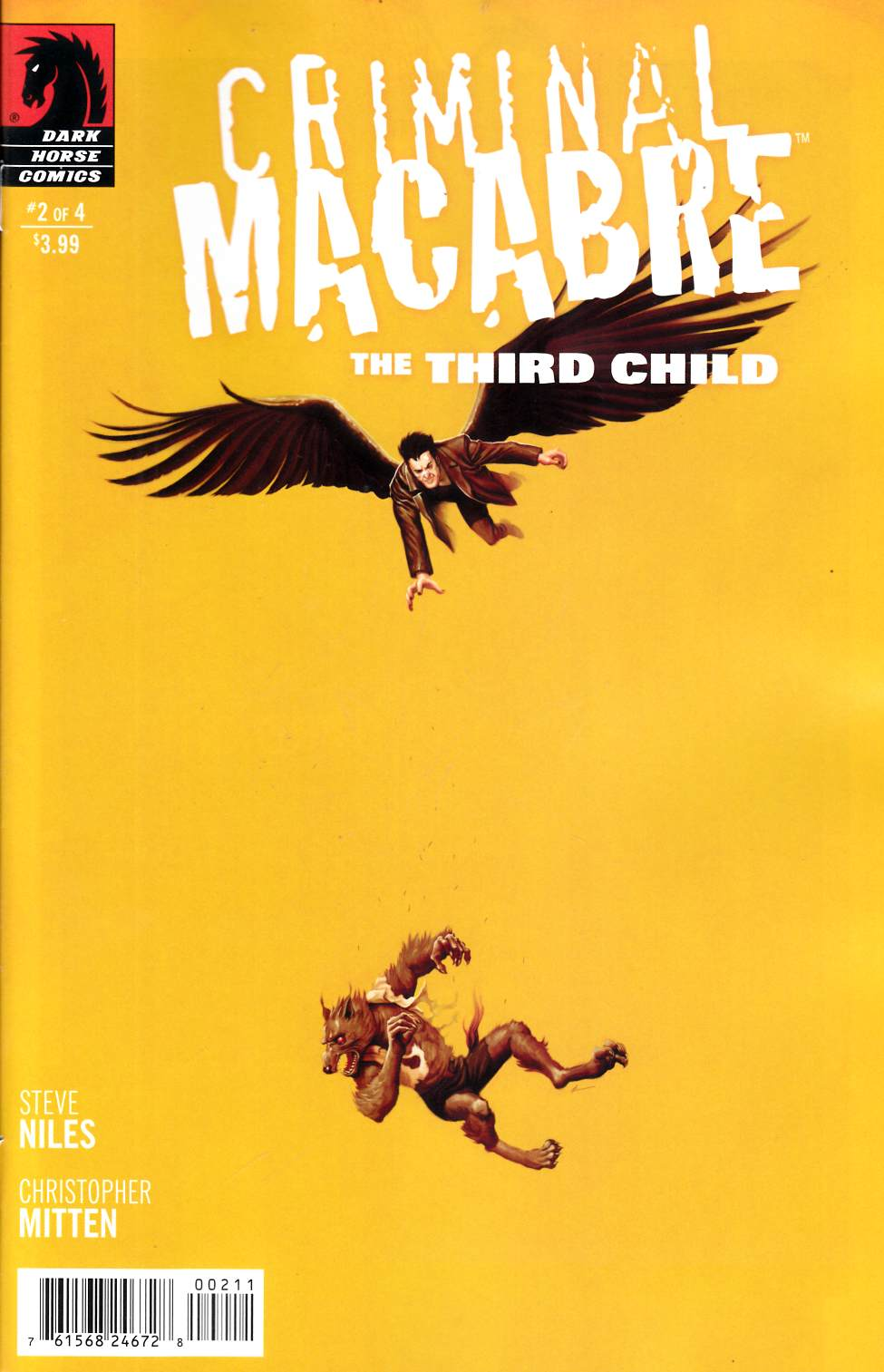 Criminal Macabre Third Child #2 [Dark Horse Comic] THUMBNAIL